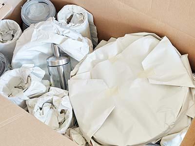 Photo Papier de soie d'emballage