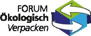 """Beitragsbild in der Rubrik """"Unsere Mitgliedschaften"""". Abgebildet ist das Logo des Forum ökologisch verpacken"""