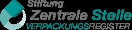 """Beitragsbild in der Rubrik """"Unsere Mitgliedschaften"""". Abgebildet ist das Logo der Stiftung Zentrale Stelle Verpackungsregister"""