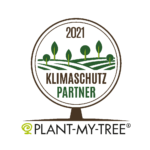 Logo Plant My Tree, Klimaschutzpartner für Baumpatenschaft
